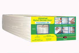 garage door insulation kit foam panels weatherproofing garage