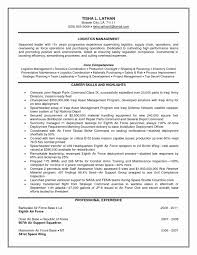 Supply Chain Cover Letter Sample And Resume Logistics Manager