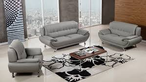 contemporary living room gray sofa set. Amazon.com: American Eagle Furniture Highland Complete 3 Piece Living Room Faux Leather Sofa Set, Gray: Kitchen \u0026 Dining Contemporary Gray Set S