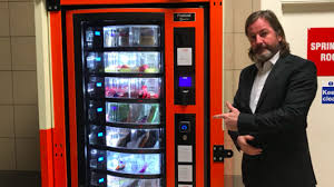Vending Machines Manchester Classy The World's First Vending Machine For Homeless People Launches Today