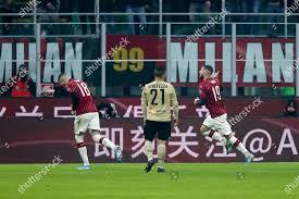Theo Hernandez Milan goal Editorial Stock Photo - Stock ...