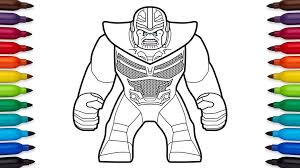 Coloring Pages Lego Infinity War Coloring Pages Online Free Page