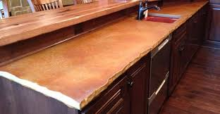 chiseled edge concrete countertops custom crete werks llc racine wi
