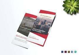 Brochure Design Pdf Free Download Tri Fold Corporate Business