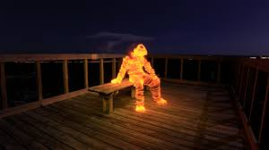 How to Light Paint a Light Man | Light Painting Photography