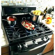 clean gas stove top black glass profile how to burner grates parts