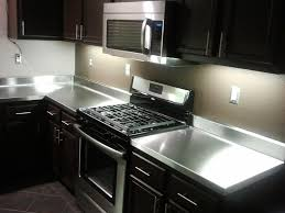 extraordinary stainless steel countertop custom a m e p c furniture cost ikea lowe diy home depot toronto with sink