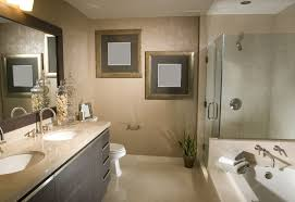 bathroom remodel. Remodeled Bathroom With Frameless Shower And Tub Remodel