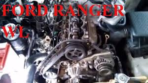 HOW TO REPAIR FORD RANGER WL ENGINE TIMING MARK AND TIMING GEAR ...