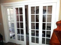 solid wood doors french interior door glass panel bifold oak closet