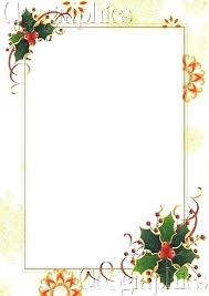 Christmas Stationary Template Free Printable Stationery Templates