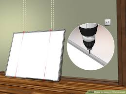 3 Ways To Hang A Whiteboard Wikihow