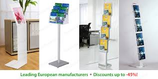 Free Standing Literature Display Unique Floor Standing Brochure Holders Brochure Booklet Dispensers Holders