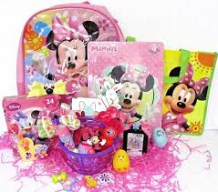 s disney minnie mouse mini easter basket gift set