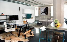 loft home office. Arts District Loft Industrial-home-office Home Office E
