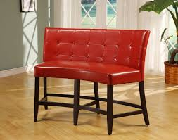 Red Leather Counter Height Chairs