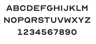 Eye Chart Typeface Eye Chart Alphabet For Your Business Providence Optical