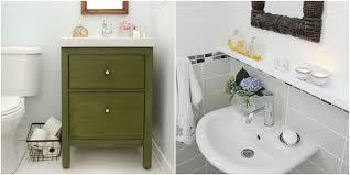 Glass Splashbacks Bathroom Walls 11 Ikea Bathroom Hacks New Uses For Ikea Items In The Bathroom
