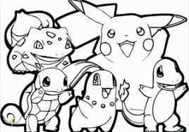 Free Pokemon Coloring Pages Black And White Unique Free Printable
