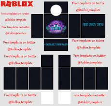 How To Make Clothing For Roblox Roblox Templates Roblox_template Twitter
