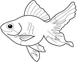 Simple Fish Outline Fish Clip Art Black And White Simple Fish Clipart Black And White