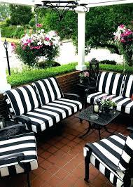 blue wicker chair cushions blue patio chair cushions est furniture outdoor black white stripes with