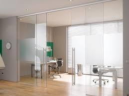 glass sliding door for home office