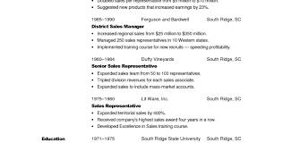 Resume Sales Combination Resume Free Resume Templates
