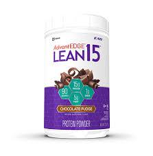 nutrition facts advantedge lean 15 protein powder