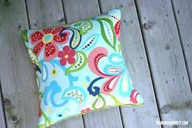 5 minute pillow covers tutorial wonder forest outdoor cushion cover how to clean sunbrella fabric cushions