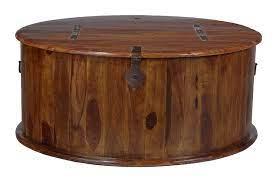 jali sheesham round trunk coffee table