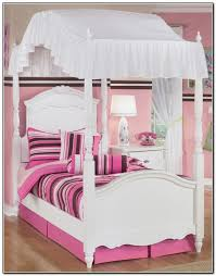 Awesome White Twin Canopy Bed with Zoomie Kids Brandy Twin Canopy ...
