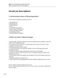 Dentist Front Desk Jobs Job Description For Dentist Dental Office ...