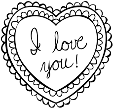 Small Picture Valentines Day Coloring Pages diaetme