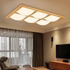 wood ceiling lighting. Wooden Modern Led Ceiling Lights For Living Room Bedroom Luminaria De Teto Creative Wood Lamp Lighting