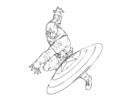 Small Picture Coloring Pages Boys Captain America Coloring Pages Avengers
