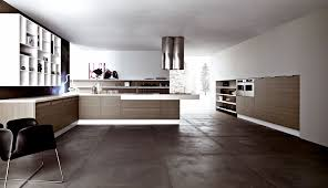 Modern Kitchen Floor Tile Dark Polished Concrete Floor In Floor Lighting In Concrete Living