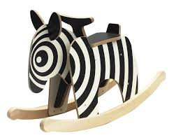 newmakers rocking horse zebra the coolest first birthday gifts