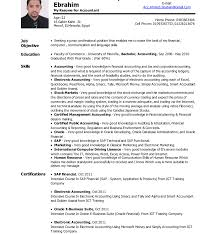 Chief Accountant Resume Sample Sample Resume For Accounting Student Beautiful Endearing Accountant 18