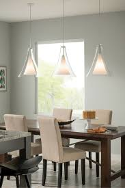 chandeliers for dining room contemporary. The Unexpectedly Large Contemporary Glass Shade Of Melrose II Grande Pendant Light From Tech Lighting Chandeliers For Dining Room G