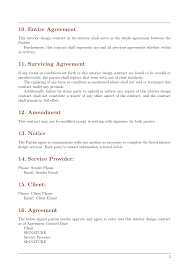 Reload to refresh your session. Contracts Interior Design Contract Template Template