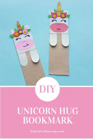 if you love unicorns and bookmarks then you should check out these two adorable diy unicorn bookmarks too which do you like best the unicorn hug bookmark