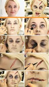 basic zombie dead beginner makeup middot zombie make up tutorial 15 easy step by step make