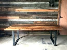 metal and wood dining table sightly reclaimed wood dining room sets wonderful reclaimed wood dining table