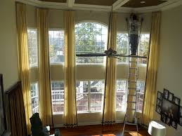 Living Room Window Treatments Blinds Drapes Curtains Two Story Windows Help Doityourself