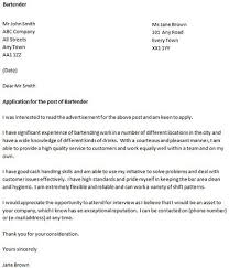 bartender cover letter example good luck with your job appplication and let us know if you need more help bartender resume cover letter