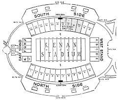 Jack Coombs Field Seating Chart File Kenan Memorial Stadium 1961 Seating Chart Jpg