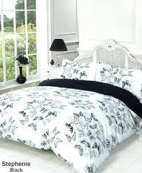 duvet quilt cover bedding set black white single super king size covers sainsburys sets brown dimensions