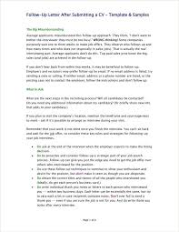 Following Up On Job Interview 4 Employment Follow Up Letter Templates Pdf Free Premium