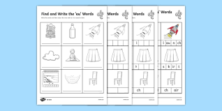 Here, you will find free phonics worksheets to assist in learning phonics rules for reading. Find And Write The Au Words Differentiated Activity Sheets